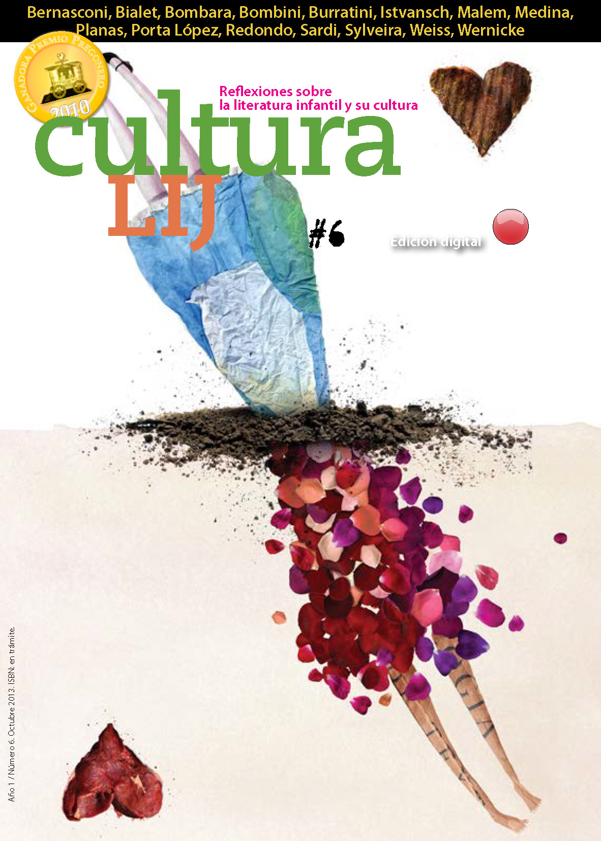 Una nueva edición de Cultura LIJ digital - Octubre 2013