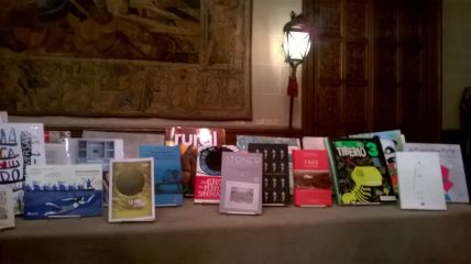 Vista de la exposición de los libros mejor editados en Argentina en 2017.